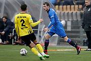 (L-R) *Moreno Rutten* of VVV Venlo, *Thomas Ouwejan* of AZ Alkmaar
