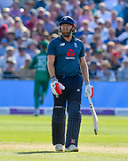 Jonny Bairstow of England during the third Royal London One Day International match between England and Pakistan at the Bristol County Ground, Bristol, United Kingdom on 14 May 2019.