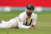 Matthew Wade of Australia during the International Test Match 2019, fourth test, day three match between England and Australia at Old Trafford, Manchester, England on 6 September 2019.
