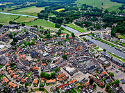 Nederland, Overijssel, Gemeente Ommen; 21–06-2020; overzicht Ommen, in de streek Salland en gelegen aan de Overijsselse Vecht<br /> Overview Ommen, in the Salland region and located near the Overijsselse Vecht.<br /> luchtfoto (toeslag op standaard tarieven);<br /> aerial photo (additional fee required)<br /> copyright © 2020 foto/photo Siebe Swart