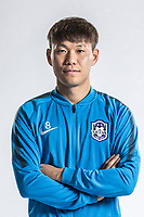 **EXCLUSIVE**Portrait of Chinese soccer player Li Yuanyi of Tianjin TEDA F.C. for the 2018 Chinese Football Association Super League, in Tianjin, China, 28 February 2018.