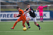 Dundee's Kerr Waddell - Dundee v Dundee United in the SPFL Development League at Links Park, Montrose. Photo: David Young<br /> <br />  - &copy; David Young - www.davidyoungphoto.co.uk - email: davidyoungphoto@gmail.com