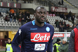 December 16, 2017 - Turin, Piedmont, Italy - Kalidou Koulibaly (SSC Napoli) before the Serie A football match between Torino FC and SSC Napoli at Olympic Grande Torino Stadium on 16 December, 2017 in Turin, Italy. SSC Napoli win 3-1 over Torino FC. (Credit Image: © Massimiliano Ferraro/NurPhoto via ZUMA Press)