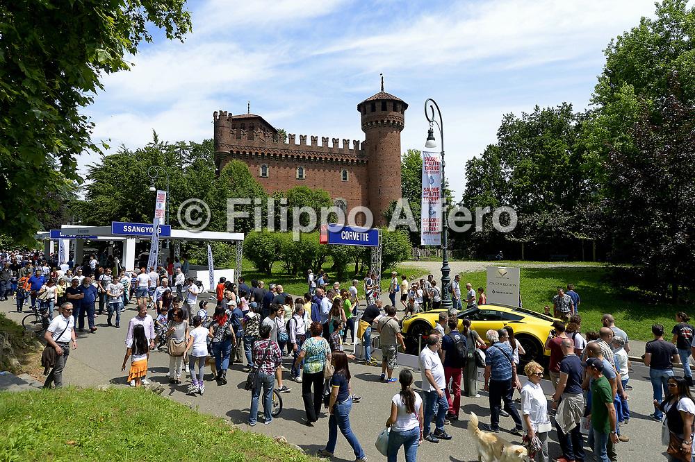 &copy; Filippo Alfero<br /> Salone dell'Auto Torino, Parco Valentino<br /> Torino, 8-12/06/2015
