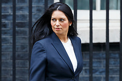 © Licensed to London News Pictures. 14/03/2017. London, UK. International Development Secretary PRITI PATEL leaves Downing Street after a cabinet meeting on Tuesday, 14 March 2017. Photo credit: Tolga Akmen/LNP