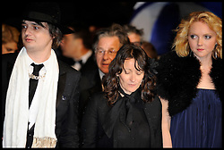 Pete Doherty and Lily Cole arrive on the Red Carpet for the Premiere of Confession Of A Child Of The Century during the 65th Annual Cannes Film Festival at Palais des Festivals, Cannes, France, Sunday May 20, 2012. Photo by Andrew Parsons/i-Images.