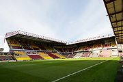 A general view of The Northern Commercials Stadium before the EFL Sky Bet League 1 match between Bradford City and Plymouth Argyle at the Northern Commercials Stadium, Bradford, England on 11 November 2017. Photo by Craig Zadoroznyj.