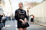 Jasmine Sanders at Dior SS2018