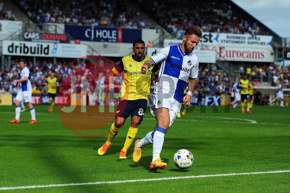 Matt Taylor of Bristol Rovers - Mandatory by-line: Dougie Allward/JMP - 14/08/2016 - FOOTBALL - Memorial Stadium - Bristol, England - Bristol Rovers v Oxford United - Sky Bet League One