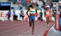 Friidrett ,  11. juni 2015 , Diamond League , Bislett Games , Oslo<br />  Atheltics<br /> Genzebe Dibaba , ETH , winer 5000 m