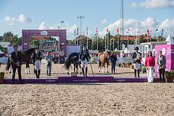 Voets Sanne, NED, Claeys Manon, BEL, Etzner Jakobsson Louise, SWE<br /> FEI European Para Dressage Championships - Goteborg 2017 <br /> © Hippo Foto - Dirk Caremans<br /> 22/08/2017,