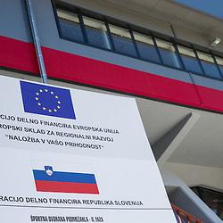 20130725: SLO, Basketball - Reconstruction of Sports arena Podmezakla in Jesenice