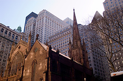 New York City, New York:  Christ Church in lower Manhattan.  .Photo #: ny242-14782  .Photo copyright Lee Foster, www.fostertravel.com, lee@fostertravel.com, 510-549-2202.