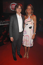 GIULIO SALOMONE MD Fiat Auto UK and his wife  at a party to celebrate the launch of the new Fiat Bravo held at The Roundhouse Theatre, Chalk Farm Road, London on 13th June 2007.<br /><br />NON EXCLUSIVE - WORLD RIGHTS