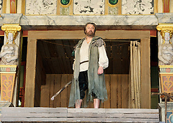 The Tempest By William Shakespeare, The Globe Theatre, London, Great Britain..Directed by Jeremy Herrin, designed by Max Jones, music by Stephen Warbeck..Roger Allam - Prospero, on April 26, 2013, on April 29, 2013. Photo by Elliott Franks / i-Images. .