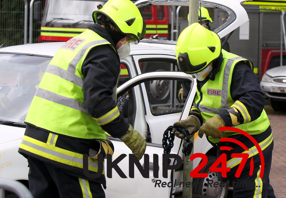 Firefighters from across the United Kingdom travelled to the Hampshire Fire and Rescue Headquarters in Eastleigh on Saturday April 25 to compete in a United Kingdom Rescue Organisation (UKRO) regional competition. Teams from nine fire services sent specialist firefighters to compete in this contest, one of the largest rescue competitions in the world.<br />