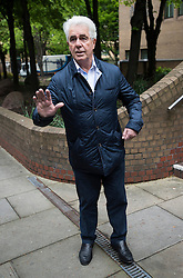 © London News Pictures. 02/05/2013. London, UK.  Celebrity publicist MAX CLIFFORD arriving at Southwark Crown Court in London where he has been sentenced to eight years in prison for eight counts of indecent assault. Photo credit: Ben Cawthra/LNP