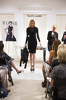 Haute Event Photography Ralph Lauren Fashion show for Harper's Bazaar Magazine at Saks Fifth Avenue