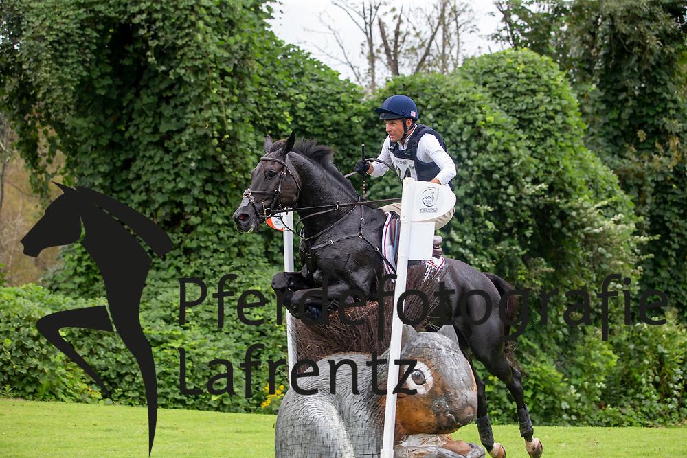 MARTIN Boyd (USA), Tsetserleg<br /> Tryon - FEI World Equestrian Games™ 2018<br /> Vielseitigkeit Teilprüfung Gelände/Cross-Country Team- und Einzelwertung<br /> 15. September 2018<br /> © www.sportfotos-lafrentz.de/Sharon Vandeput