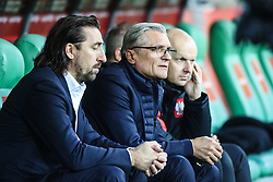November 13, 2017 - Gdansk, Poland - Trener Adam Nawalka and Andrzej Iwan of Poland during the International Friendly match between Poland and Mexico at Energa Stadium in Gdansk, Poland on November 13, 2017. (Credit Image: © Foto Olimpik/NurPhoto via ZUMA Press)