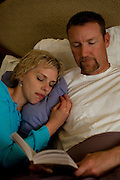 """Robyn and Jason re-enact their daily activities while in small town Anand, India, for 2 weeks for the IVF treatment. Robyn Wright,38 (Left) and Jason Wright,44 (Right) is an American couple from Wyoming, USA, who are new surrogacy clients of the Akanksha Infertility Clinic in Anand, Gujarat. India...- Robyn works as a nail tech. in Wilson, a town with reportedly among the highest per capita incomes in the US. .- Robyn's monthly income ranges between $ 3,000-5,000. Jason works as a guide in national parks and earns about $ 150 per day. .- They've been saving up for three years to be able to afford the surrogacy in India, which will cost them about $ 25,000 (not including travel costs).- Robyn has a 14-year-old daughter from her first marriage but had to have a partial hysterectomy a month after delivery due to a medical complication. ..Quotes..""""To get us back here [to try again for surrogacy in India in case it doesn't work out this time], I would have to work everyday in the summer. I'll start selling my possessions, if I have to."""" - Jason.""""I definitely relate with the surrogates to the extent that everybody has to sell their soul to earn money."""" - Jason.""""A girl-friend offered to be a surrogate but that would have been harder. It would have led to complex emotions."""" - Robyn.., where some surrogate mothers stay, in the small town of Anand, Gujarat, India. The Akanksha Infertility Clinic is known internationally for its surrogacy program and currently has over a hundred surrogate mothers pregnant in their environmentally controlled surrogate houses. .Photo by Suzanne Lee"""