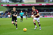 Northampton Town Midfielder Lee Martin during the Sky Bet League 2 match between Northampton Town and York City at Sixfields Stadium, Northampton, England on 6 February 2016. Photo by Dennis Goodwin.