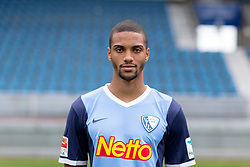 07.07.2015, Rewirpower Stadion, Bochum, GER, 2. FBL, VfL Bochum, Fototermin, im Bild Malcolm Cacutalua (Bochum) // during the official Team and Portrait Photoshoot of German 2nd Bundesliga Club VfL Bochum at the Rewirpower Stadion in Bochum, Germany on 2015/07/07. EXPA Pictures &copy; 2015, PhotoCredit: EXPA/ Eibner-Pressefoto/ Hommes<br /> <br /> *****ATTENTION - OUT of GER*****