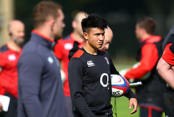 Marcus Smith of England during the training Camp at St Edwards College in Oxford - Mandatory by-line: Robbie Stephenson/JMP - 26/09/2017 - RUGBY - England - England rugby training session