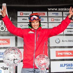 20150315: SLO, Snowboard - Crystal globe party of Zan Kosir at Krvavec