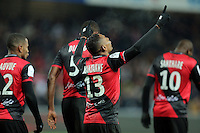 JOIE GUINGAMP  / Christophe MANDANNE  - 24.01.2015 - Guingamp / Lorient - 22eme journee de Ligue1<br />