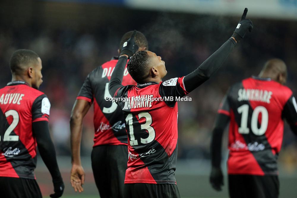 JOIE GUINGAMP  / Christophe MANDANNE  - 24.01.2015 - Guingamp / Lorient - 22eme journee de Ligue1<br />Photo : Vincent Michel / Icon Sport *** Local Caption ***