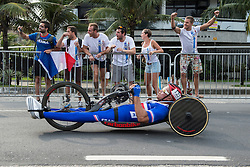 Spectators, JEANNOT Joel, H4, FRA, Cycling, Road Race à Rio 2016 Paralympic Games, Brazil