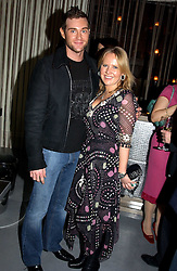MISS ALICE BAMFORD and MICHAEL PEMBERTON at a party to celebrate the opening of W'Sens - a new fine french restaurant at 12 Waterloo Place, London SW1 on 10th December 2004.<br /><br />NON EXCLUSIVE - WORLD RIGHTS