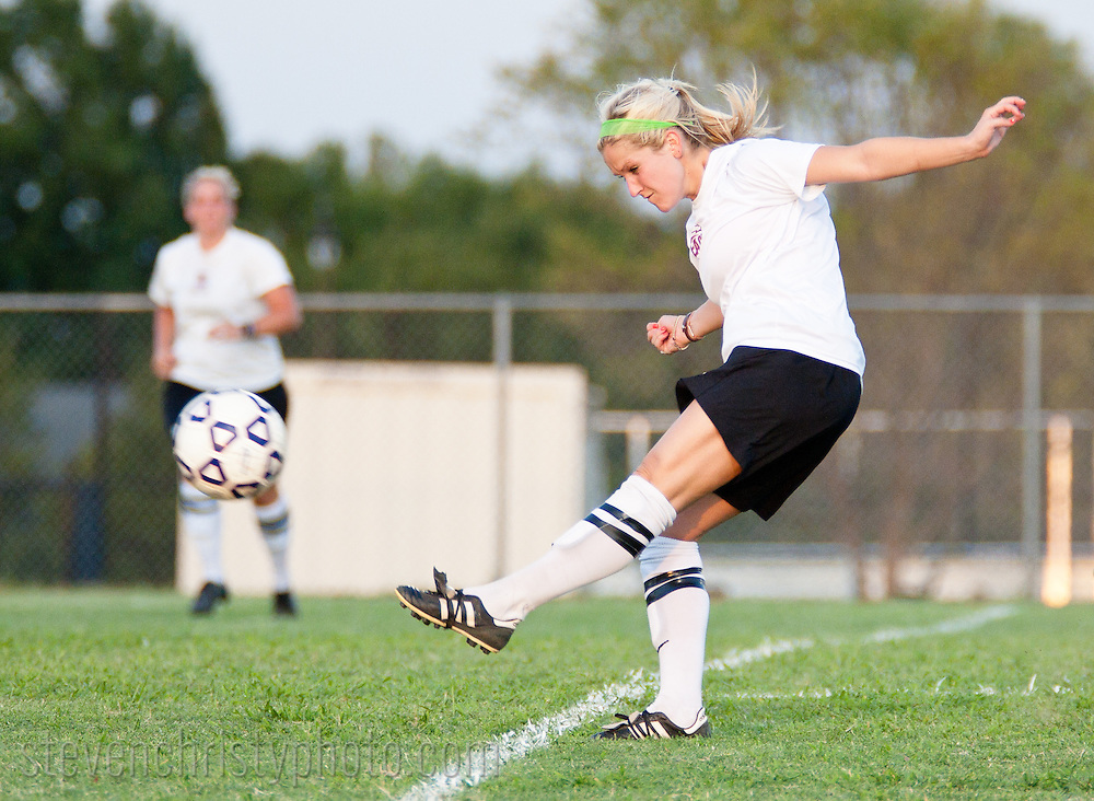 August 19, 2011: The Texas Spirit Soccer Club plays a scrimmage against the Oklahoma Christian University Eagles.