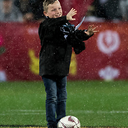Ball Boy during game 9 of the British and Irish Lions 2017 Tour of New Zealand, the second Test match between  The All Blacks and British and Irish Lions, Westpac Stadium, Wellington, Saturday 1st July 2017<br /> (Photo by Kevin Booth Steve Haag Sports)<br /> <br /> Images for social media must have consent from Steve Haag