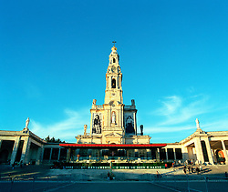 Roman Catholic Cathedral of Fatima in Portugal.