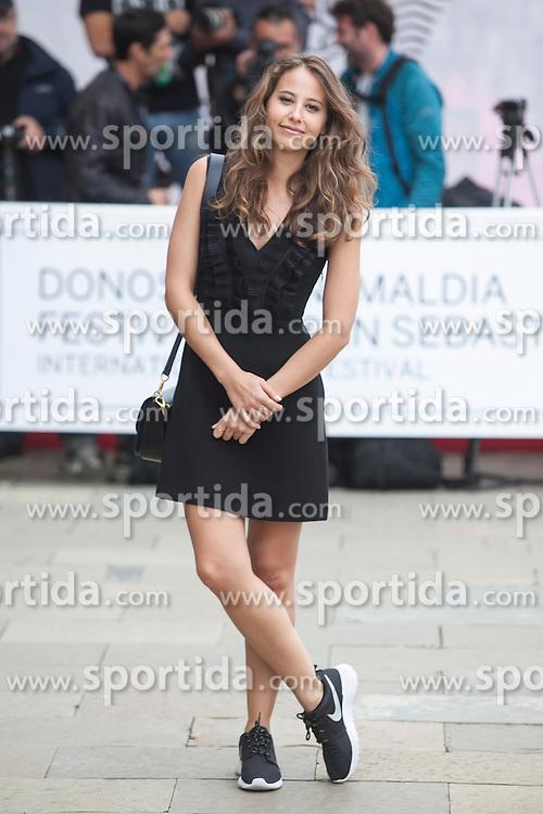 23.09.2015, Madrid, San Sebastian, ESP, San Sebastian International Film Festival, im Bild Actress Irene Escolar arrives to Maria Cristina hotel // during the San Sebastian International Film Festival in Madrid in San Sebastian, Spain on 2015/09/23. EXPA Pictures &copy; 2015, PhotoCredit: EXPA/ Alterphotos/ Victor Blanco<br /> <br /> *****ATTENTION - OUT of ESP, SUI*****
