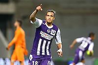 Joie Oscar Trejo - 23.05.2015 - Toulouse / Nice - 38e journee Ligue 1<br />Photo : Manuel Blondeau / Icon Sport