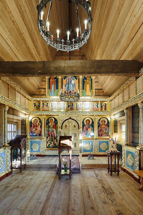 The church of Saint George in Joroinen, FInland.