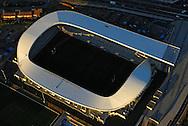 France, Languedoc Roussillon, Hérault, Montpellier, vue aérienne, stade de Rugby Yves du Manoir