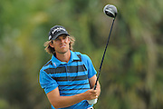 Aaron Baddeley during the first round of the World Golf Championship Cadillac Championship on the TPC Blue Monster Course at Doral Golf Resort And Spa on March 8, 2012 in Doral, Fla. ..©2012 Scott A. Miller.