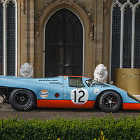 Porsche 917 chassis #008 1970 on 20/07/2019, at Rennsport Collective, Donington Hall, Leicestershire, UK,