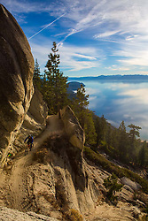 Rusty Reams on the Flume Trail in Lake Tahoe