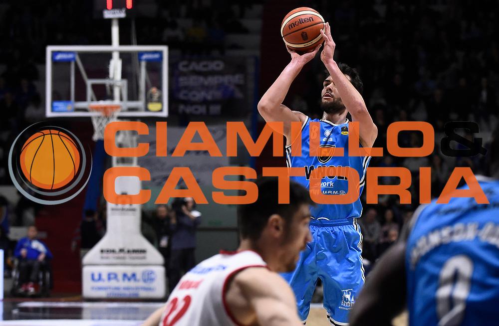 Ricci Giampaolo<br /> Vanoli Cremona - Victoria Libertas Pesaro<br /> Lega Basket Serie A 2017/2018<br /> Pesaro, 04/03/2018<br /> Foto A.Giberti / Ciamillo - Castoria