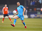 Barnet player Curtis Weston controls the ball in the first half during the EFL Sky Bet League 2 match between Luton Town and Barnet at Kenilworth Road, Luton, England on 24 March 2018. Picture by Ian  Muir.