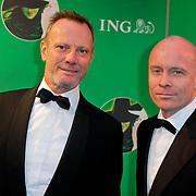 NLD/Scheveningen/20111106 - Premiere musical Wicked, Mart Visser en partner