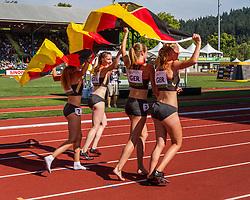 women's Germany 4x400 meter relay team