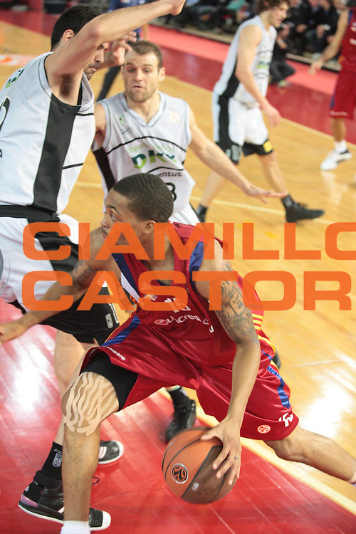 DESCRIZIONE : Roma Eurolega 2008-09 Lottomatica Virtus Roma DKV Joventut Badalona<br /> GIOCATORE : Brandon Jennings<br /> SQUADRA : Lottomatica Virtus Roma<br /> EVENTO : Eurolega 2008-2009<br /> GARA : Lottomatica Virtus Roma DKV Joventut Badalona<br /> DATA : 30/10/2008 <br /> CATEGORIA : palleggio<br /> SPORT : Pallacanestro <br /> AUTORE : Agenzia Ciamillo-Castoria/G.Ciamillo