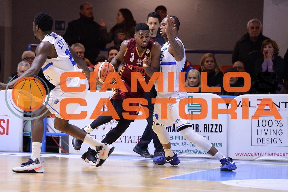 Ejim Melvin<br /> Enel Brindisi - Umana Venezia<br /> BASKET SerieA 2016-2017<br /> Brindisi  07/01/2017 <br /> FOTO CIAMILLO