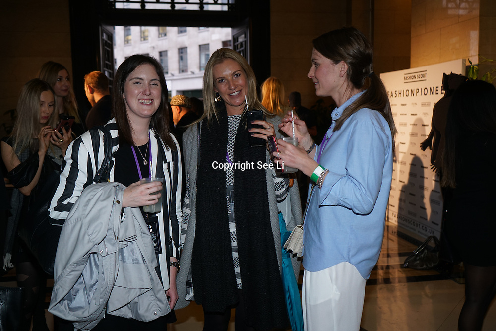 Freemasons Hall, London, England, UK. 15th September 2017. Michaela Frankova showcases latest collection at FASHION SCOUT SS18.